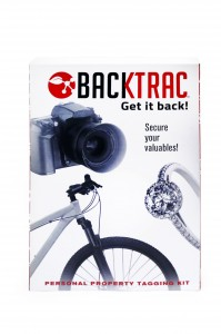 Backtrac personal property marking kit