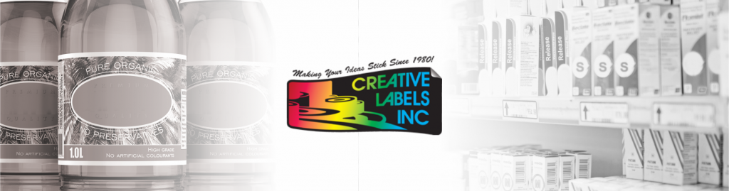 Creative labels header
