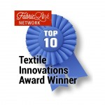 Textile innovations award winner badge