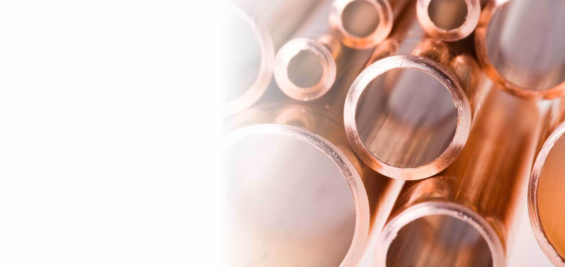 authenticated copper pipes