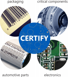certify inkjet graphic